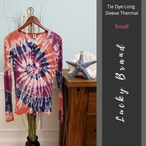 Lucky Brand | Tie Dye Long Sleeve Thermal